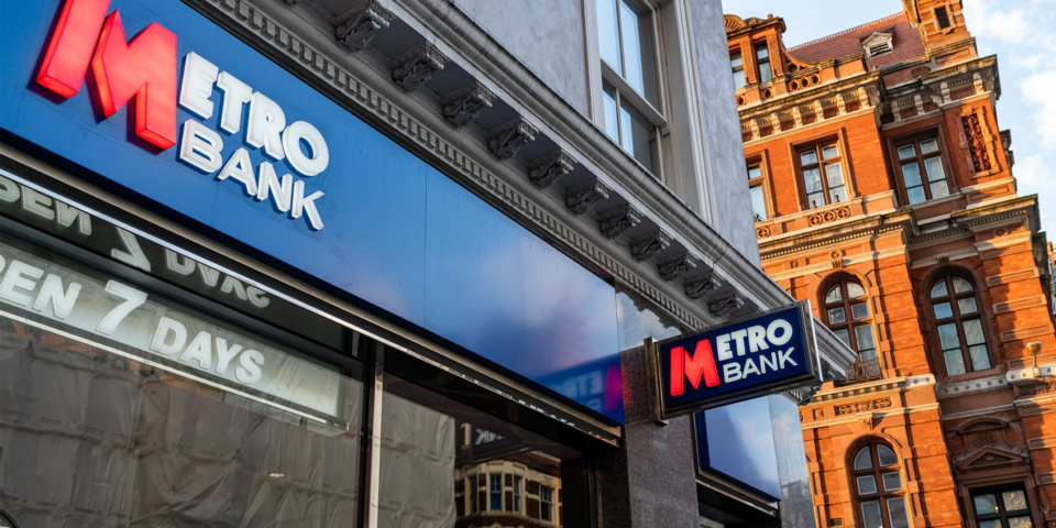Metro bank to refund customers £10.5m plus interest