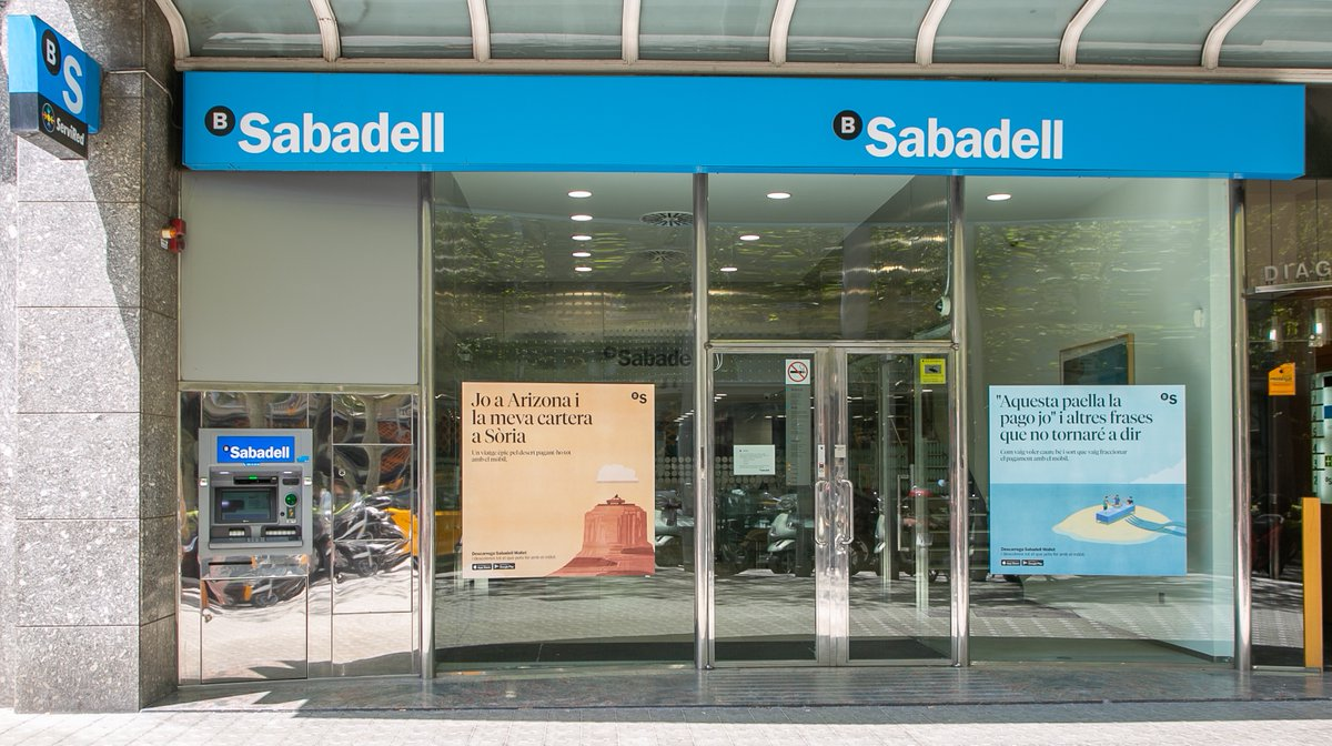 Spain's Sabadell plans to close 235 branches