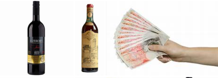 Banks use 'free' cash and wine to lure customers