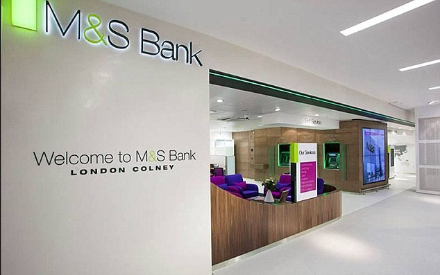M&S Bank to close all current accounts and in-store branches
