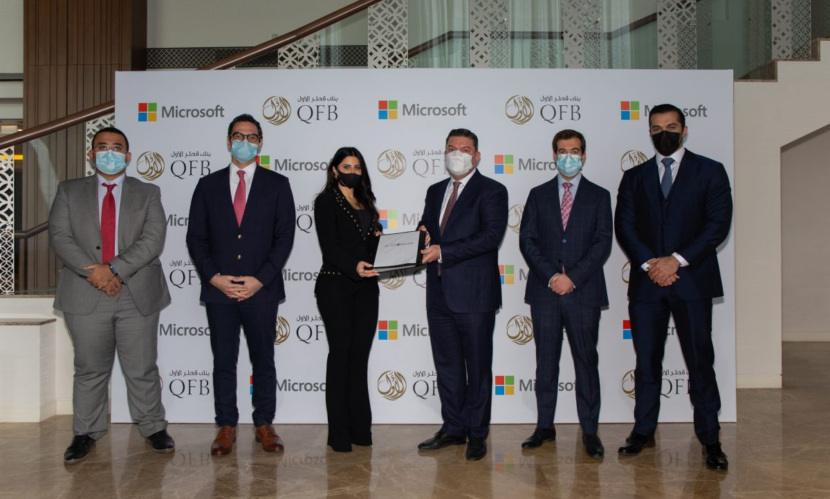 qatar first - Qatar First Bank launches mobile banking app on Microsoft's Azure cloud