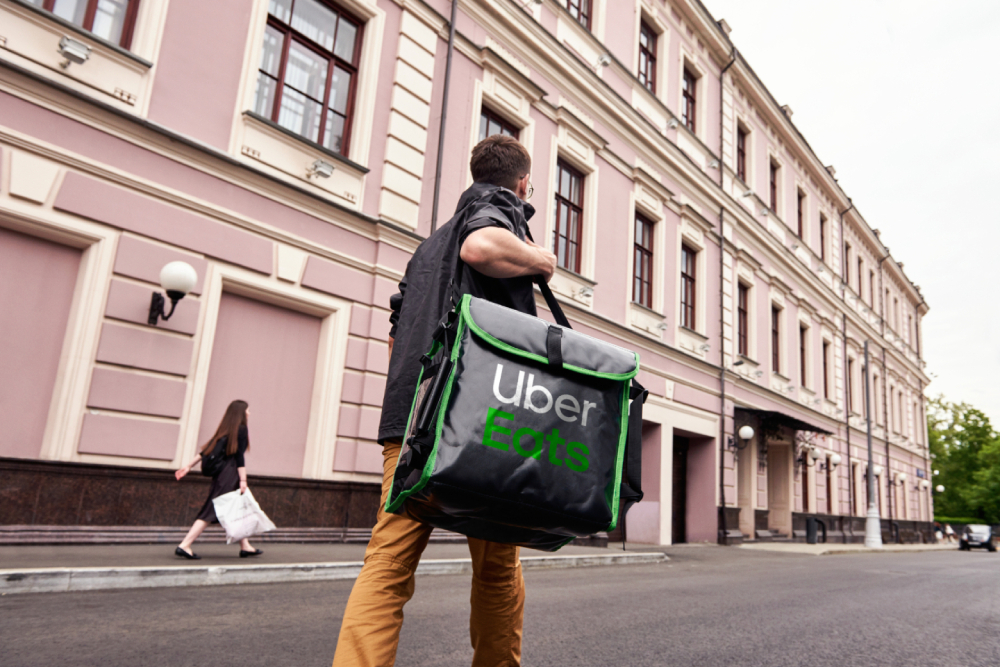 An Uber Eats experiment paves a new path for gig workers